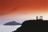 Greece  Attica  Sounion  Temple of Poseidon