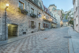 Canada  Quebec  Quebec City  Old Town Street