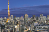Japan  Tokyo  Roppongi  Skyline at Twilight