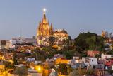La Parroquia Parish and Town of San Miguel De Allende  Mexico