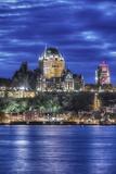 Canada  Quebec  Quebec City at Twilight