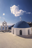 Greece  Cyclades Islands  Santorini  Thira Kimisis Theotokou Church