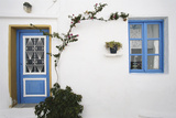 Greece  Cyclades Islands  Paros  Naoussa  Doorway of House