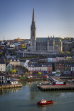 St Coleman Church and Harbor Town of Cobh  County Cork  Ireland