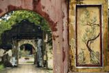 Vietnam  Hue  Forbidden Purple City  Temple Archway