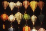 Vietnam  Hoi An  Close-Up of Asian Lanterns Souvenirs