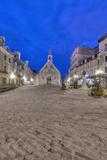 Canada  Quebec  Quebec City  Place Royale at Dawn