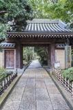 Japan  Kanagawa  Kamakura  Hokokuji Temple Entrance