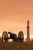 USA  Pennsylvania  Gettysburg  Battlefield Monument and Cannon