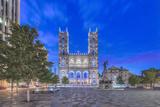 Canada  Quebec  Montreal  Notre Dame Basilica
