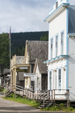 Main Street in Old Gold Town Barkerville  British Columbia  Canada