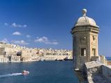View of Valletta with Grand Harbor Seen from Senglea  Valletta  Malta