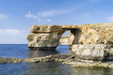 Azure Window  a Natural Arch at the Coast of Gozo  Malta