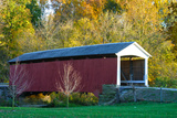 Covered bridge  Indiana  USA