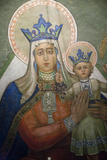 Mural in St Nicholas Croatian Catholic Church in Millvale  Pa  Usa