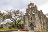 Historic Mission Espada in San Antonio  Texas  Usa