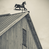 USA  Pennsylvania  Dutch Country  Amish Barn and Weathervane