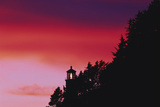 Florence  Devils Elbow State Park  Heceta Head Lighthouse at Sunset