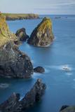 Rocky Coastline Near Lizard  Cornwall  England