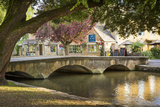 Bourton-On-The-Water  Cotswolds  Gloucestershire  England
