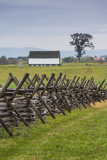 USA  Pennsylvania  Gettysburg  Battle of Gettysburg  Battlefield Fence