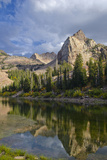 Lake Blanche and Sundial with Reflection  Utah