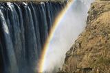 Zimbabwe  Victoria  Rainbow over Victoria Falls