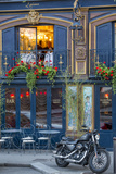 Historic La Perouse Restaurant in Saint Germain Des Pres  Paris France
