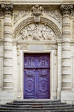Doors to Saint Etienne Du-Mont Church  Latin Quarter  Paris  France