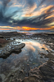 Sunset from the Tide Pools in La Jolla  Ca