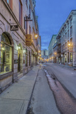 Canada  Quebec  Montreal  Old Montreal at Dawn