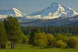 Bucolic Landscape  Black Butte Ranch  Sisters  Oregon  Usa