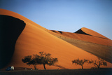 Namibia  Sossusvlei  Dune Sunset and Land Rover