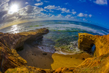 Sunset Cliffs in San Diego  Ca