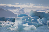 Iceland East Region Jokulsarlon Glacial Lake Icebergs in the Lake