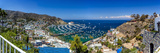 A Panorama of Avalon on Catalina Island