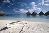 French Polynesia  Bora Bora  Bora Bora Nui Resort  Bungalows and Beach