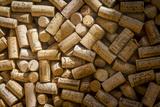 Wine Bottle Corks on Display in Saint Germain Des Pres  Paris France