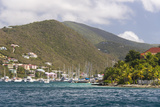 Bvi  Tortola  Soper's Hole Winds Up  Moorings Full
