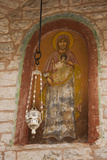 Greece  Epirus  Ioannina  Moni Tsoukas Monastery Interior and Fresco