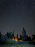 USA  Colorado Night Sky at Lost Lake Slough