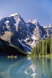 Canada  Alberta  Moraine Lake at Banff National Park