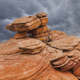 USA  Utah  Dixie National Forest Sandstone Formation in Yant Flats
