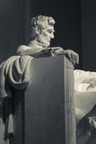 USA  Washington Dc  Lincoln Memorial  Statue of Abraham Lincoln
