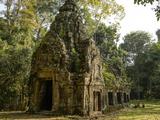 Cambodia  Angkor Wat Small Temple