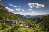 Greece  Epirus  Zagorohoria  Vikos Gorge  from Mikro Papingo Village