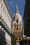 Colonial Architecture Within Cartagena  Atlantico Province Colombia