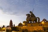 Statue of Ignacio Allende  Plaza of San Miguel De Allende  Mexico