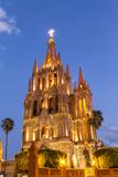 The Parish of San Miguel in San Miguel De Allende  Mexico