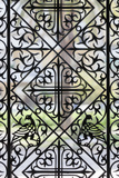 Greece  Peloponnese  Patra  Agios Andreas Church  Window Latticework